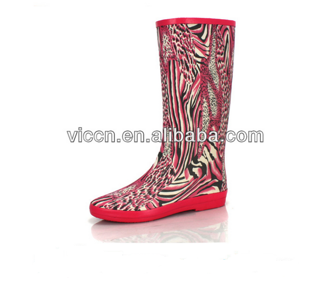 Summer sexy jelly rain boots shoes wedge gumboots biker shoes waders and welly