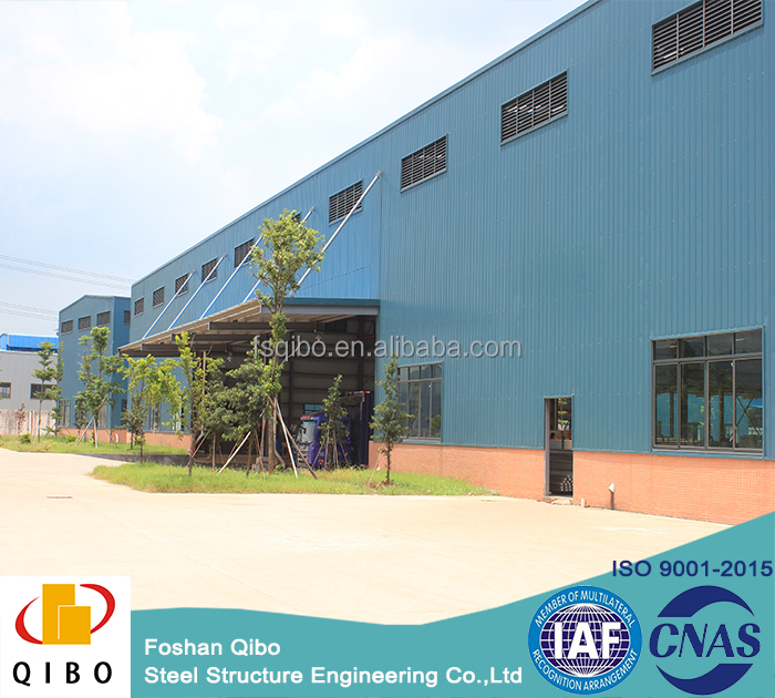 steel shed steel frame warehouse with ISO certificate