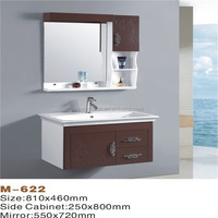 Simple design pvc wall mounted modern bathroom products