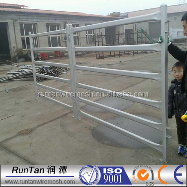 Used Galvnaized Metal horse fence panel/metal horse fence