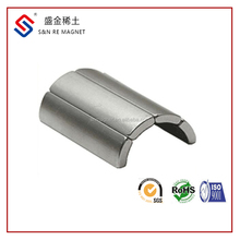 customized motor magnet arc