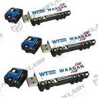 Paypal accept truck shape usb flash drive