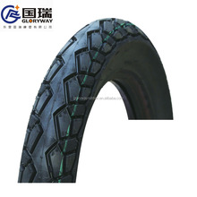 worldway brand motorcycle tire and inner tube 3.00-17 dongying gloryway rubber