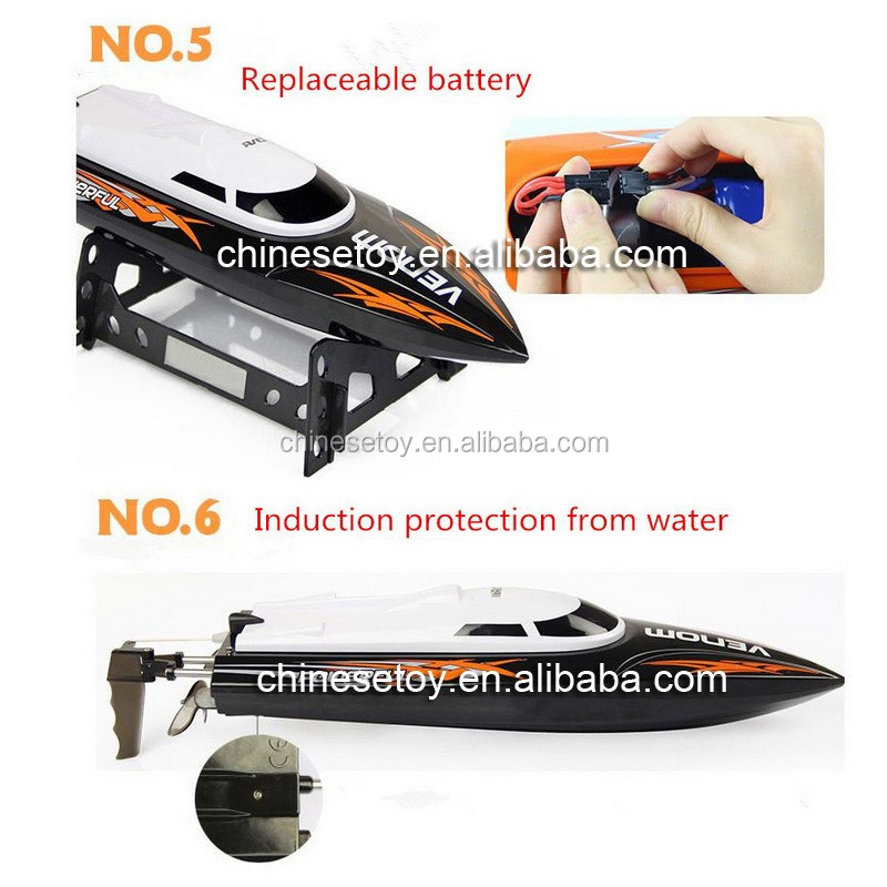 New Arrival Remote Control Toys 32CM 25km/h 2.4G Water Cooling RC Boat UDI Racing Boat High Speed Boat