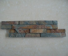Natural slate exterior culture stone brick veneer for outdoor wall