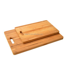 Food Grade Professional Bamboo Cutting Board, Wooden Bread Chopping Board Set For the Kitchen