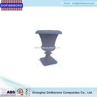 Wholesale low price high quality fiberglass urn planter, flower pot