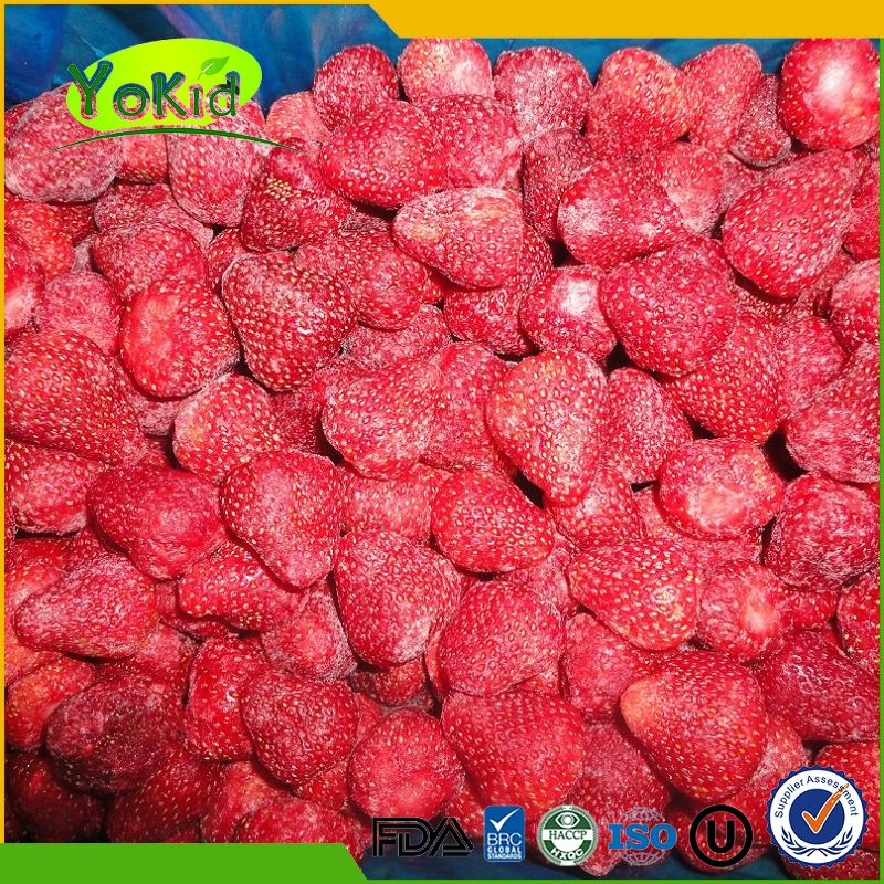 IQF Frozen Style Fresh Strawberry soft berries