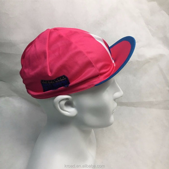 Custom make your new design cycling cap summer hat