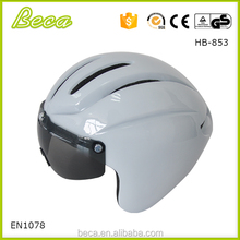 Foshan Beca sports in mold helmet with sun glass