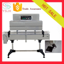 Cap label shrink packing machine for bottle cap heat tunnel shrink wrapping machine