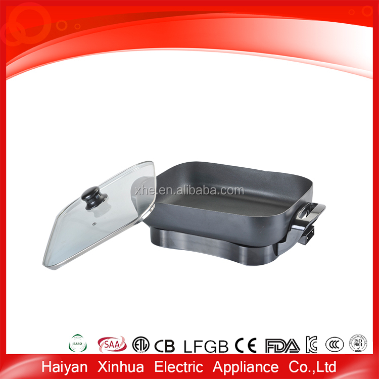 Promotional hot selling great material stone coating tawa frying pan