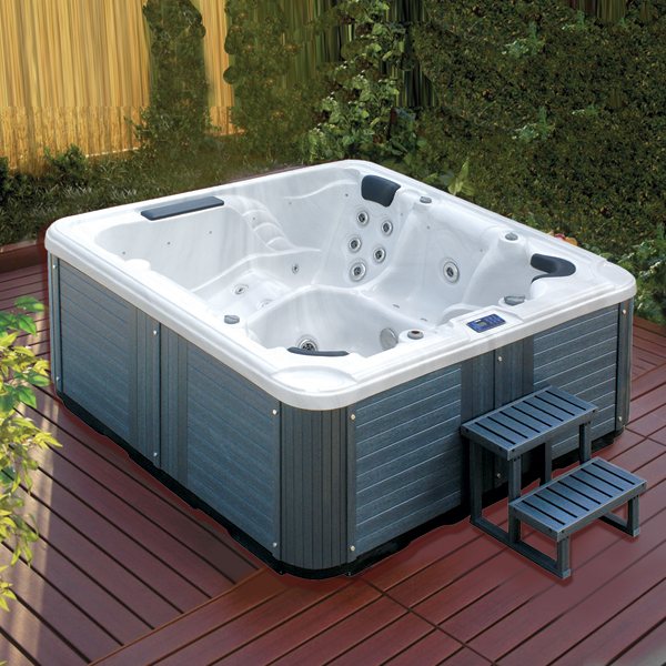 Endless pool swimming jet whirlpool massage hot tub for Whirlpool tubs on sale