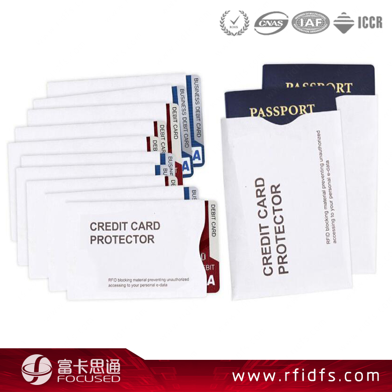New Aluminum Security Wallet Shield sleeve ID Card Holder