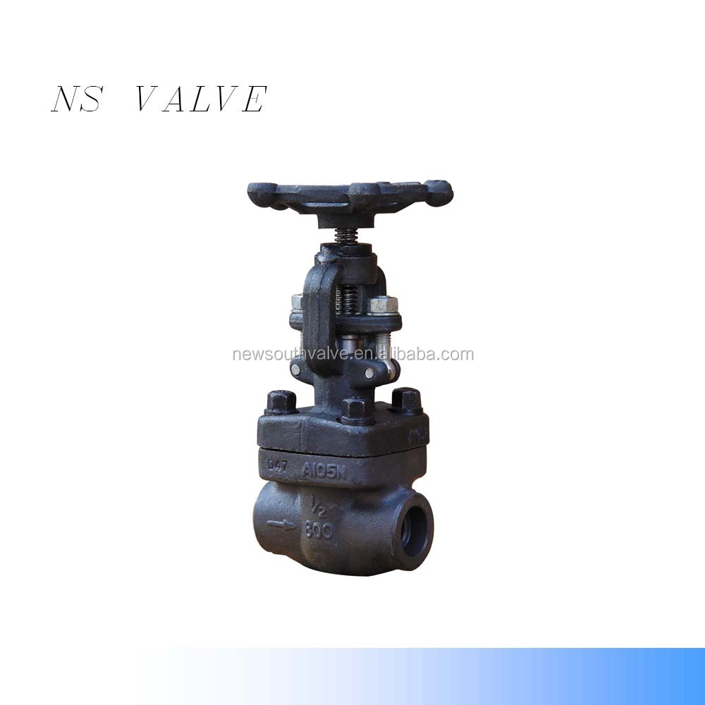 High quality API 602 alloy forge WCB /A105 gate valve 1500LB