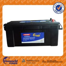 Best quality excellent quality factory direct sell 12V 200ah storage battery for car