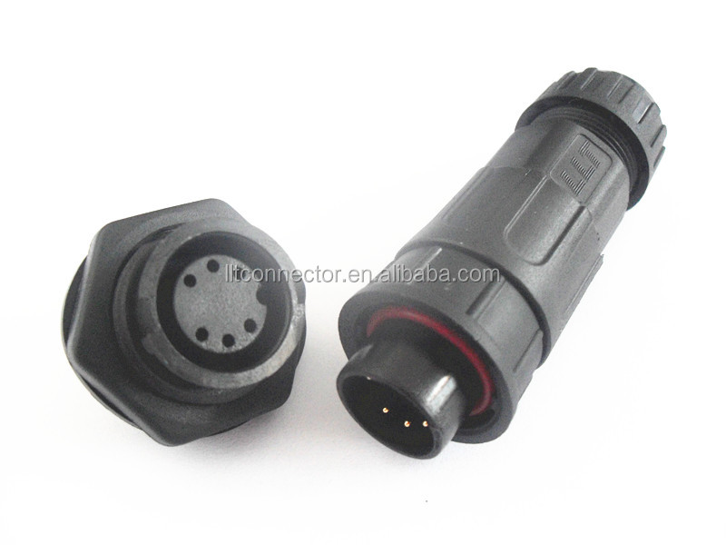 electrical female socket male plug cable connector waterprproof auto connector