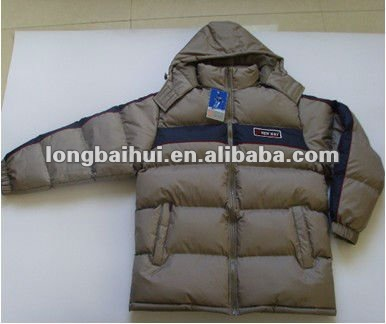 men winter ready made garments jacket stock lot (H2043A-D)