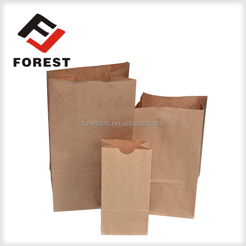High quality and elegant Matte food bags paper bag suppliers
