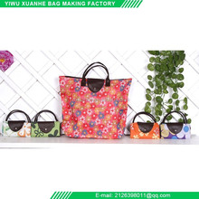 Factory supply new fashion polyester lady's hand bag