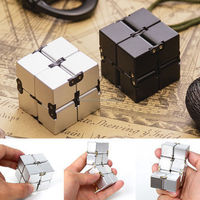 2017 Hot Sales Magical Infinity Cube Mini Stress Relieve Puzzle Fidget Anti Anxiety Funny Toys