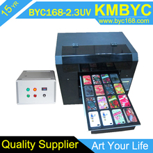 6 color 5760 dpi digital A3 uv phone case printer,no need coating,print directly
