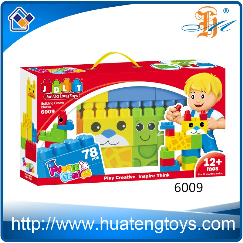 Hot Child Game Plastic Construct Building Block Set Bricks Toy