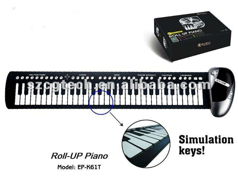 Musical Instruments/Keyboard Instruments/piano keyboard,china victory roll up electric piano