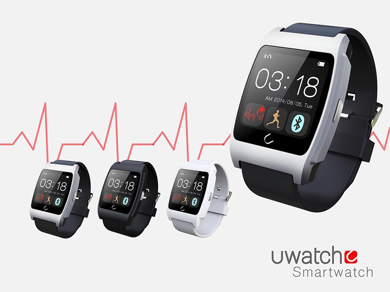 UX heart rate monitorring smart watch 3G sports bluetooth wristwatch