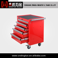 5-Drawers Metal Tool box Flight Cases