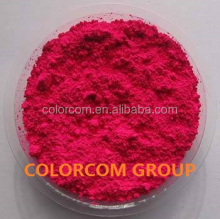 Spherical Fluorescent Pigment Magenta Colorcom Thermoset Fluorescent Resin Pigment