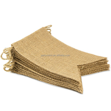 15Pcs Burlap Banner, DIY Decoration for Wedding Baby Shower and Party Decortions