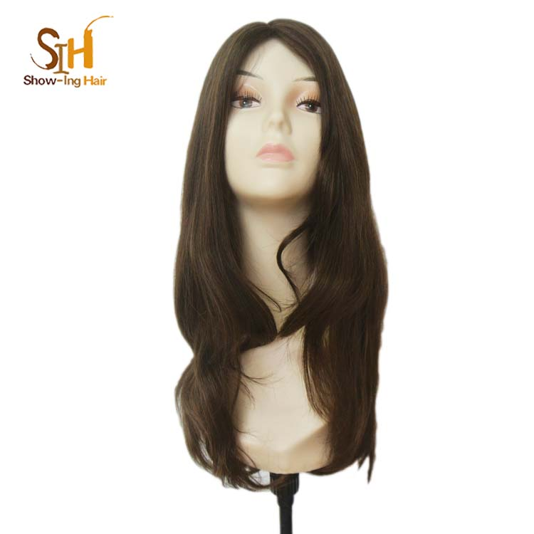 Manufacturer Sell Human Hair European Hair Jewish Kosher Wigs In Stock