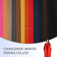 Wool Polyester Viscose Suiting Fabric For women, melton wool fabric