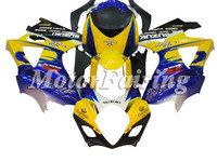 for suzuki gsx r1000 k7 2007-2008 gsxr1000 fairing kit gsxr1000 07 gsxr 1000 bodykit gsxr1000 08 gsx r1000 2008 yellow blue