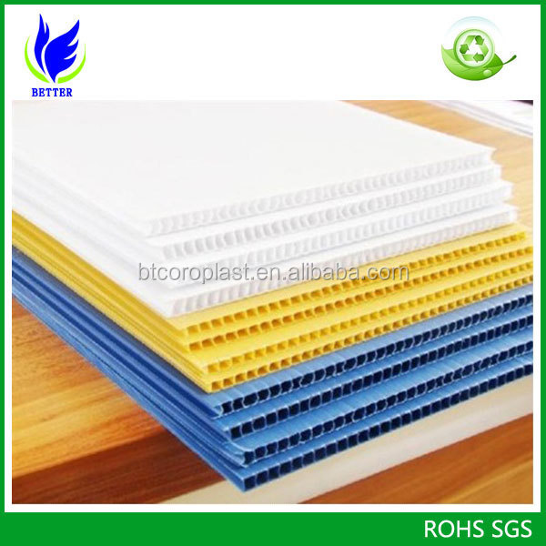 best price for white 4x8 pp coroplast plastic sheets buy