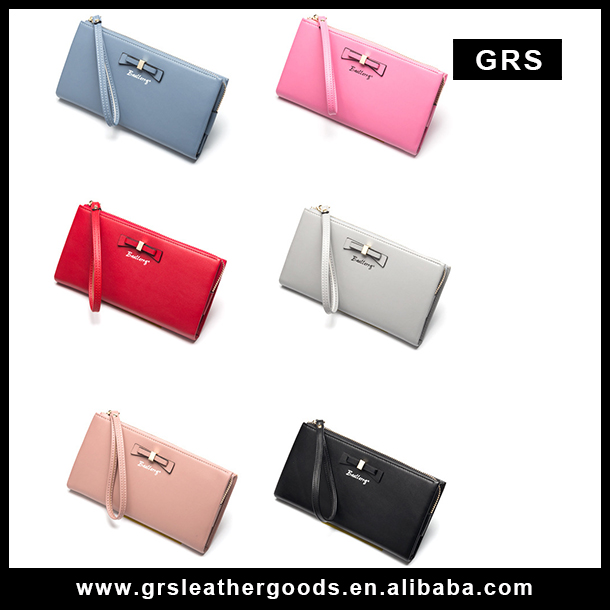 2017 new model Bowknot fancy women clutch wallet/ Coin pocket Korean Baellerry lady purse 5503