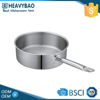 Heavybao Satin Polishing Hot Stainless Steel Food Warmer Pot Packaging For Fried Food Buckets