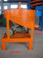 Small scale panning gold mining equipment for gold recovery
