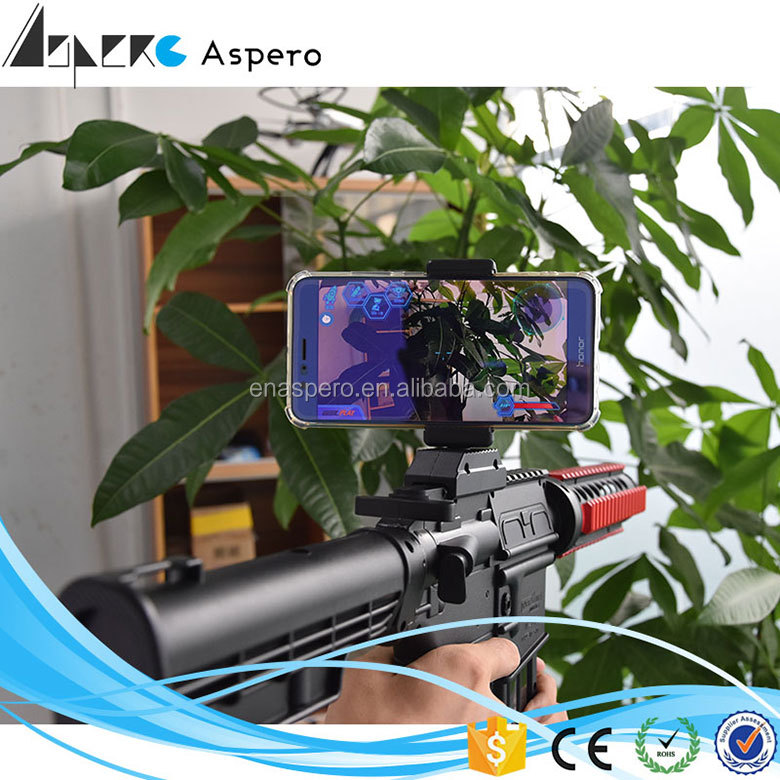 New bluetooth AR gun with 14 games Ar Gun Game DIY for iPhone and Android