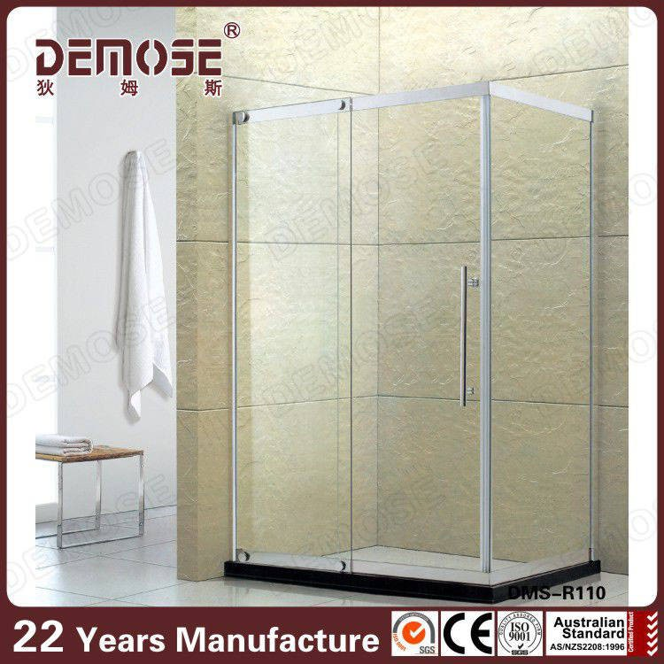 corner glass shower enclosures/ small shower enclosures