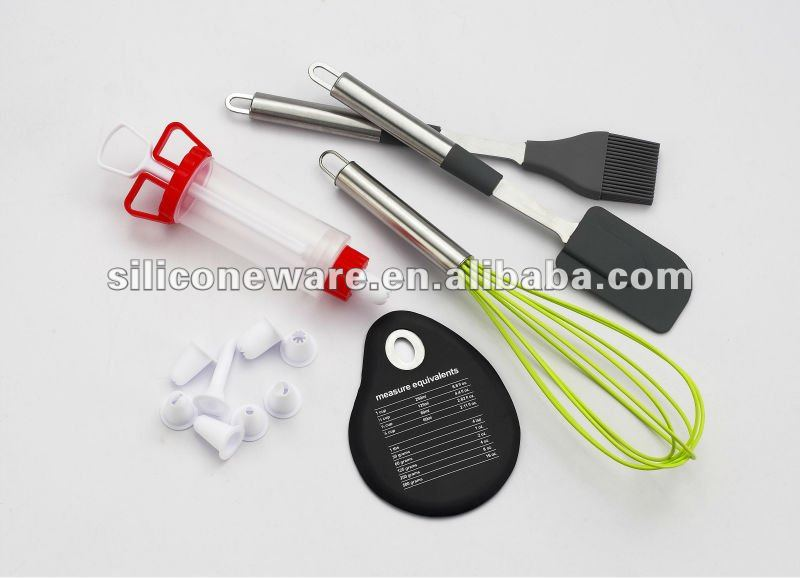 silicone baking tool sets