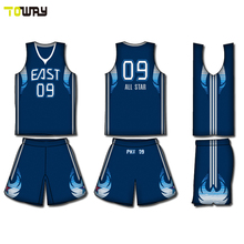 your own new style basketball jersey uniform design