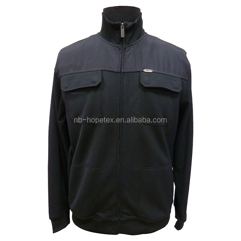 2016 high quality urban softshell custom jacket fashion and casual style for business men in roma fabric