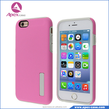 Wholesale Hot Selling Mobile Phone Cover 2 in 1 TPU PC Combo Case, Protector For iphone 6s Plus Case Cover