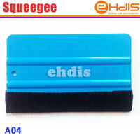 Wholesale high flexible tpr window squeegee with brush
