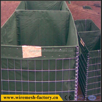metal hesco blast barrier
