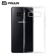 Ultra-thin Soft TPU Clear Silicone transparent crystal clear Case Cover For Samsung Galaxy J3 Pro