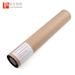 custom printed kraft packaging paper tube colorful paper poster mailing tube for gift