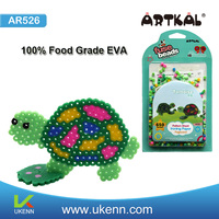 Top 1 ARTKAL 650 beads 89 colors 5mm plastic hama beads kids crafts